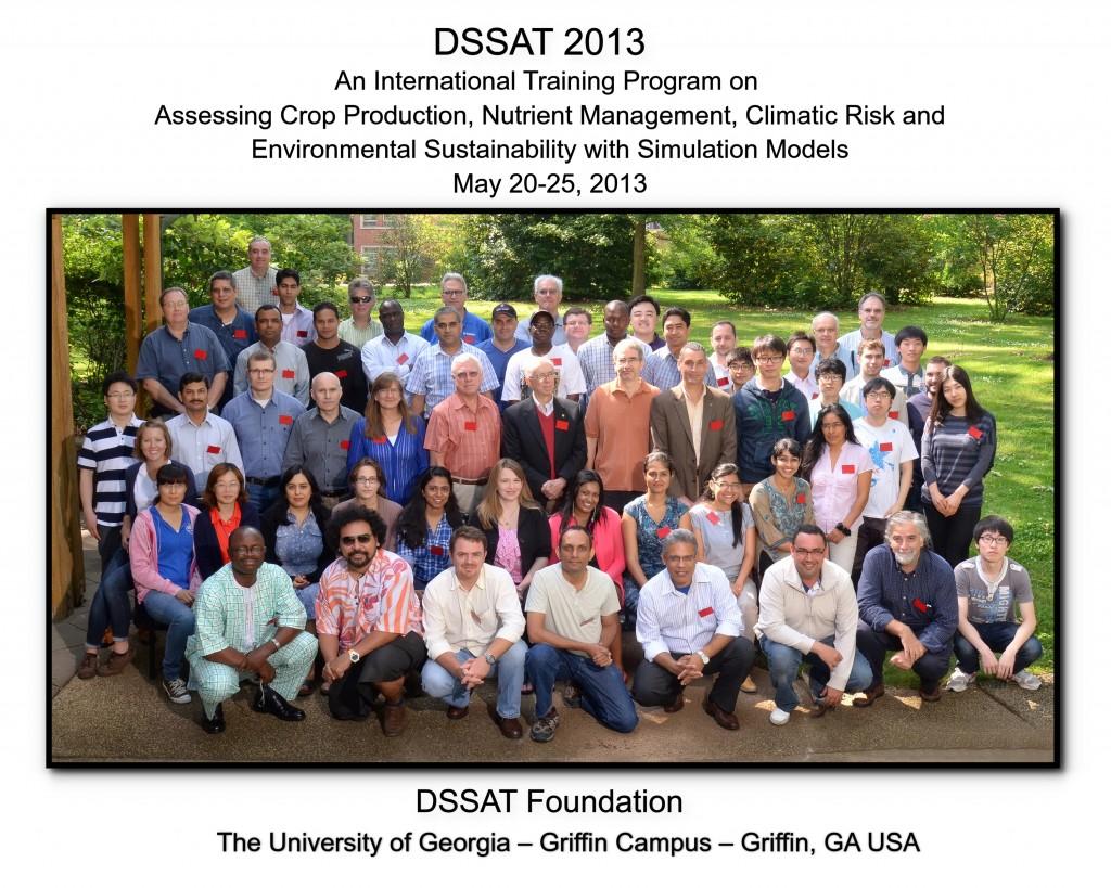 UGA DSSAT 2013