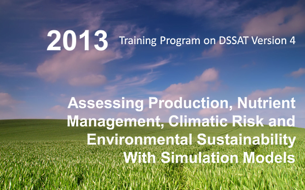 DSSAT 2013