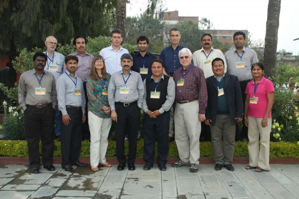 Group Photo - AgMIP Multiple Crop Model Training Workshop (20 March 2013)