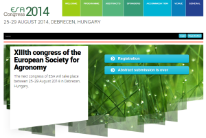 ESA 2014 Conference Website