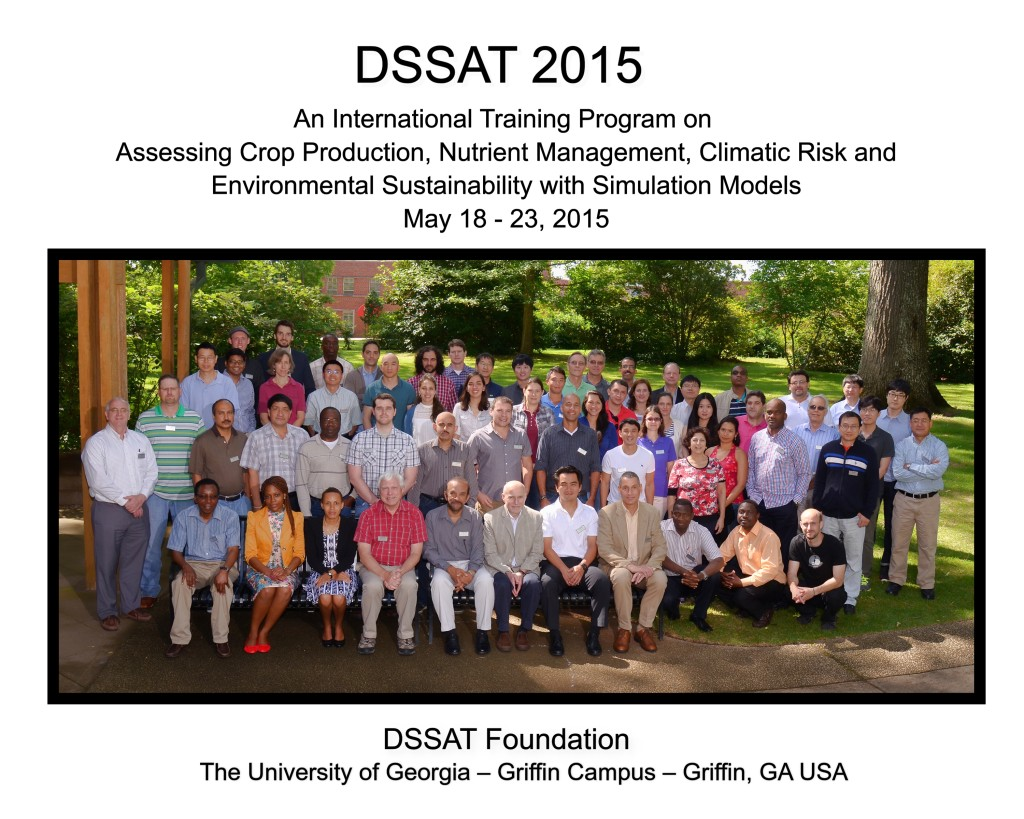 UGA-DSSAT_2015